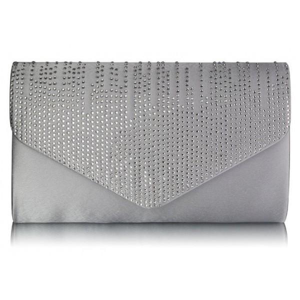 Dámské psaníčko LS Fashion Anet - šedá