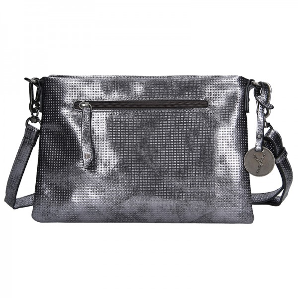 Trendy dámská crossbody kabelka Suri Frey Nina - stříbrná