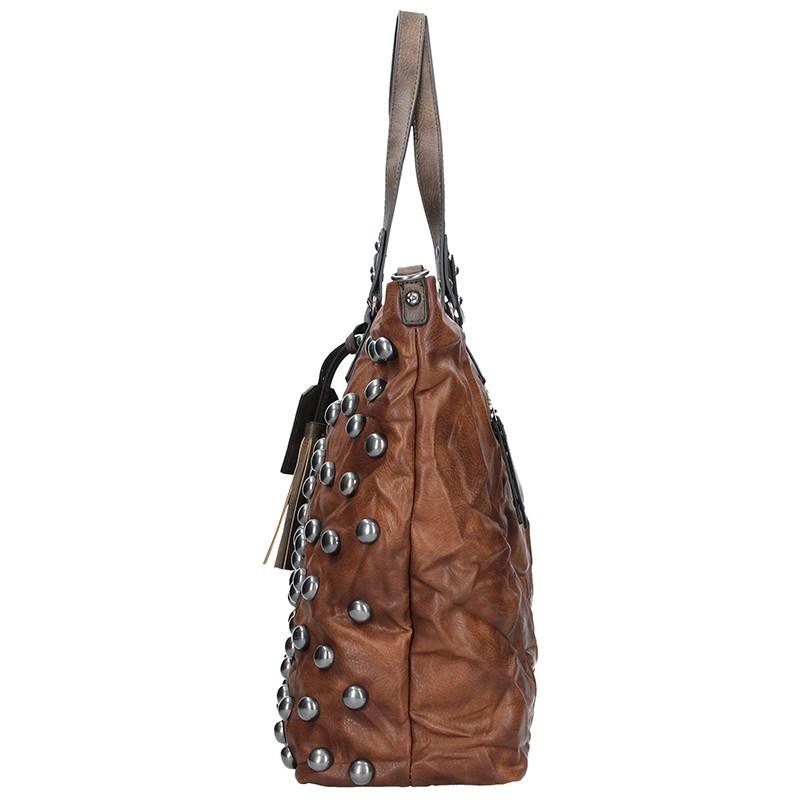 Trendy dámská crossbody kabelka Suri Frei Nina - stříbrná