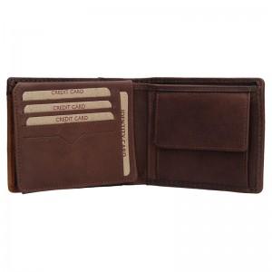Pánská kožená peněženka Lagen 1998/V - hnědá