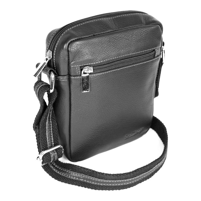 88b001f4f6 Pánská kožená taška na doklady SendiDesign IG714 - černá