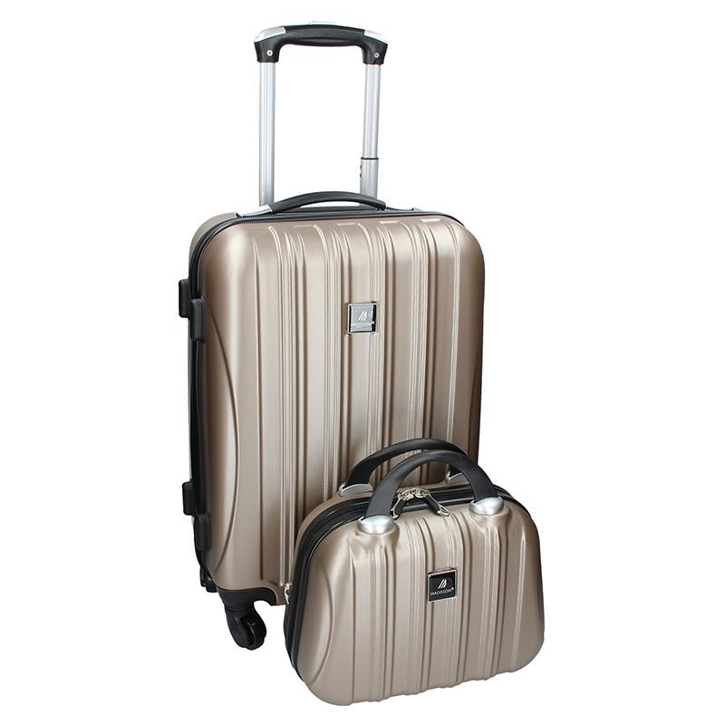 Sada dvou cestovních kufrů Madisson Travel - Bronze 39l