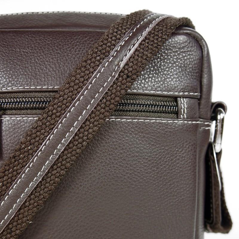 Pánská kožená taška na doklady SendiDesign IG714 - hnědá