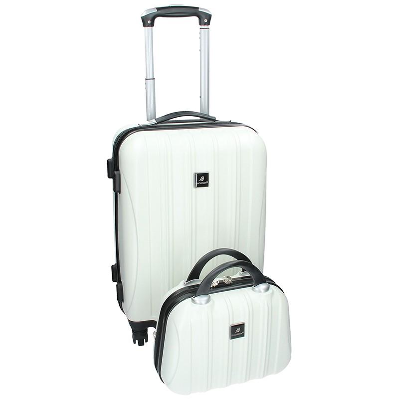 Sada dvou cestovních kufrů Madisson Travel - krémová 39l
