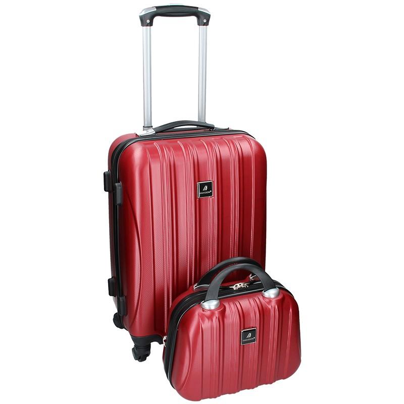 Sada dvou cestovních kufrů Madisson Travel - vínová