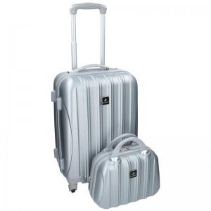 Sada dvou cestovních kufrů Madisson Travel - krémová