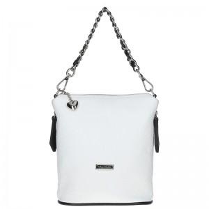 Dámská kožená kabelka Facebag Roberta - bílá