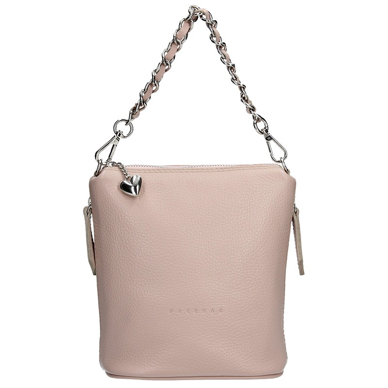 0610e69655 Dámská kožená kabelka Facebag Roberta - béžová