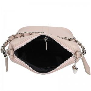 Dámská kožená kabelka Facebag Roberta - béžová