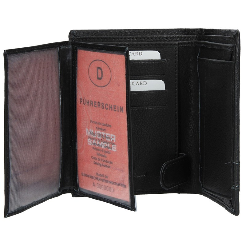 Pánská kožená peněženka SendiDesign 201 (P)