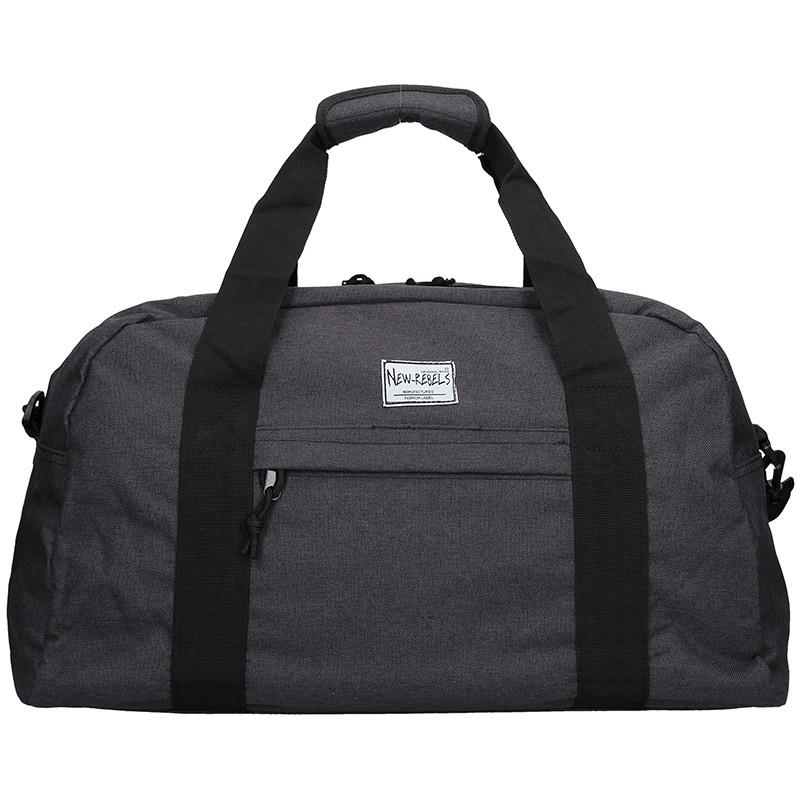 Sportovní taška přes rameno New Rebels Boby - černá