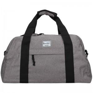 Sportovní taška přes rameno New Rebels Boby - šedá