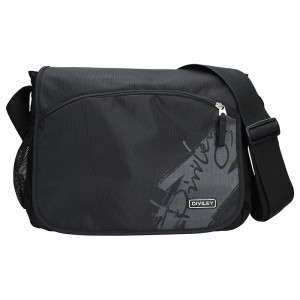Pánská taška přes rameno Diviley Tyler - černá