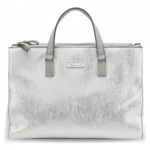Dámská kabelka Tamaris Nadine Business - stříbrná