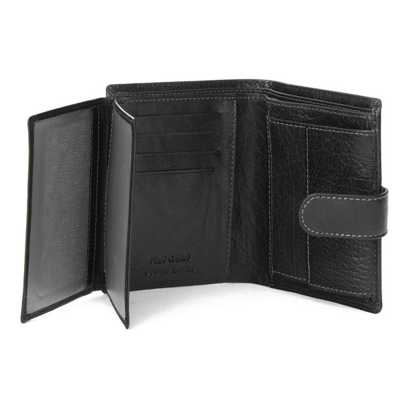 Pánská kožená peněženka SendiDesign 1047L - černá