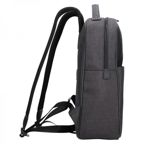 Pánský batoh Hexagona Marcure - šedo-černá
