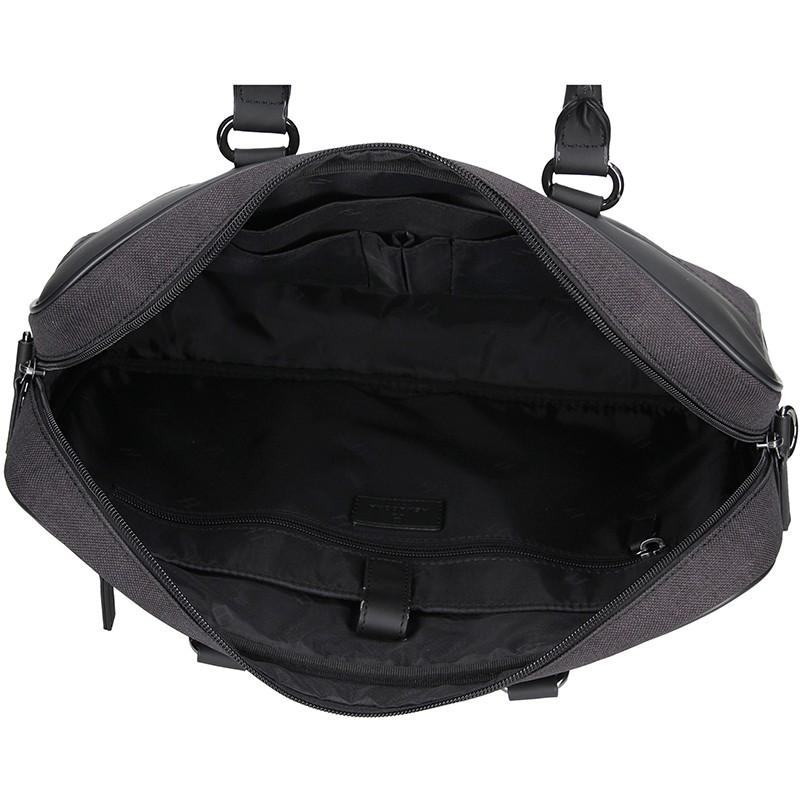 d75536212 Pánská business taška přes rameno Hexagona Phil - černo-šedá ...