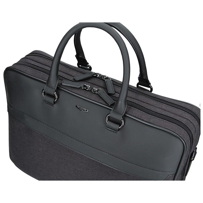 2cc465e1e Pánská business taška přes rameno Hexagona Toledo - černo-šedá