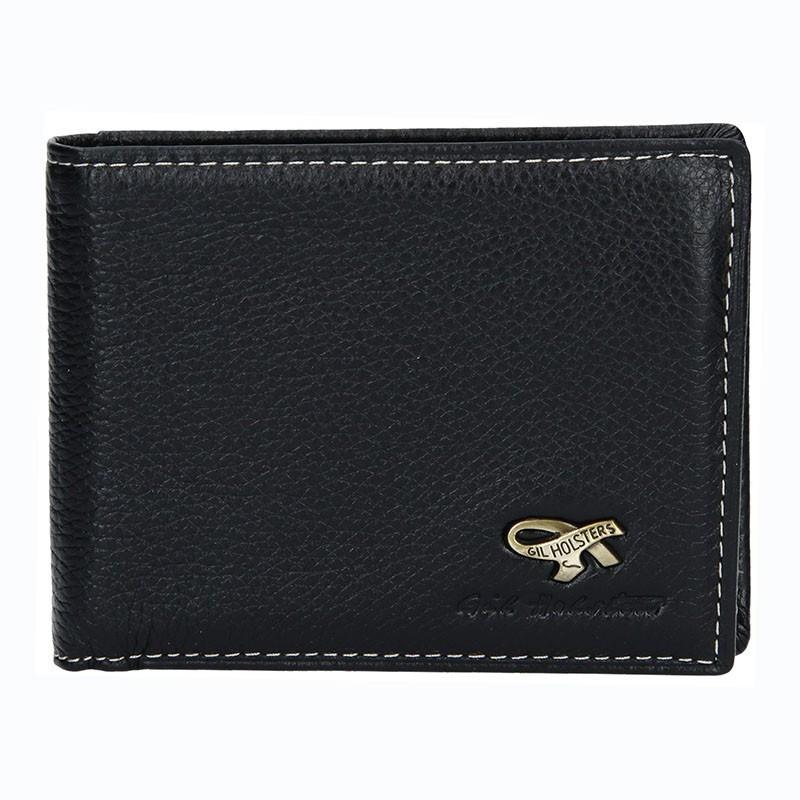 c852746c217d Pánská kožená peněženka Gil Holsters G317546 - černá