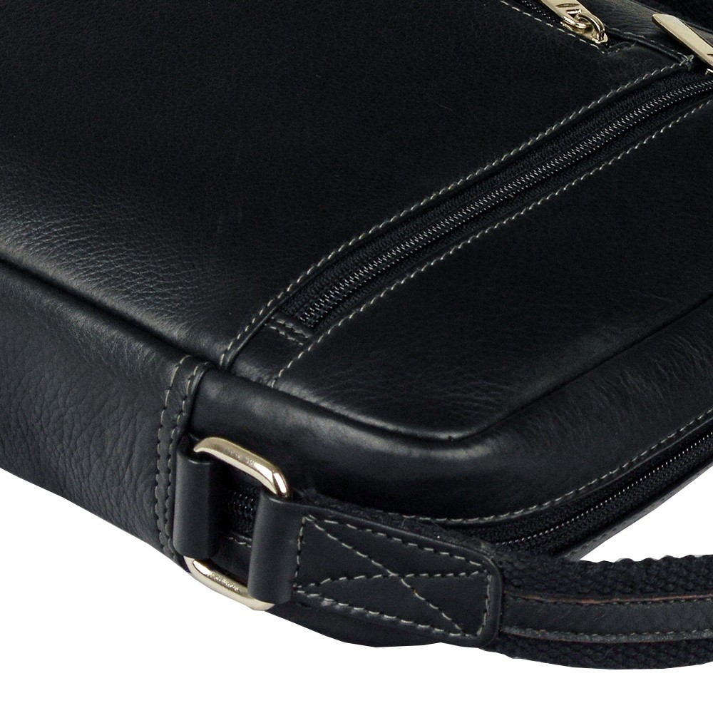 2876c765f7 ... Pánská kožená taška na doklady SendiDesign 789 - černá. + 1 další