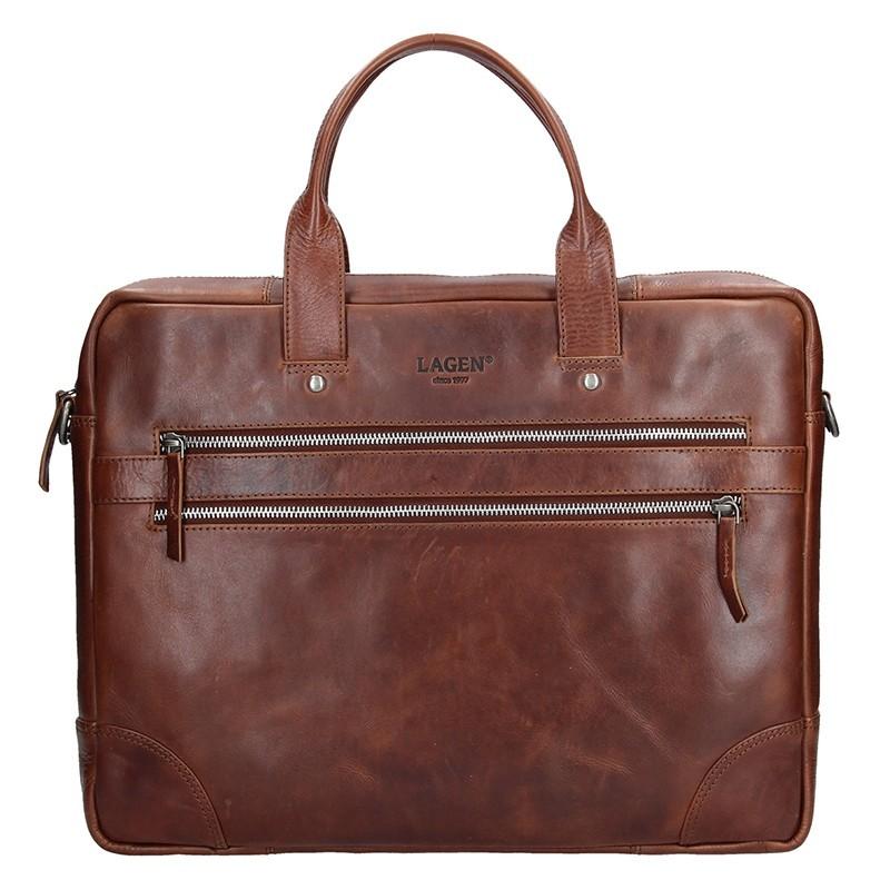 d1c0d5ba7a Pánská kožená business taška Lagen Edgar - černá. Pánská kožená business  taška Lagen Edgar - černá Přiblížit