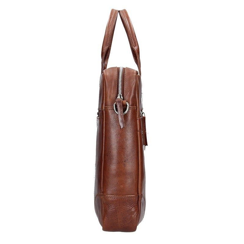 b8025bcbac Pánská kožená business taška Lagen Edgar - hnědá. Pánská kožená business  taška Lagen Edgar - hnědá