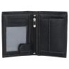 Panská kožená peněženka SendiDesign N4 - černá