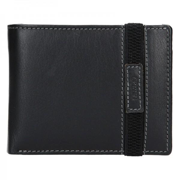 Pánská kožená peněženka Lagen Dylan - černá