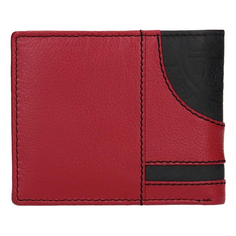 Pánská kožená slim peněženka Lagen Kieran - modrá