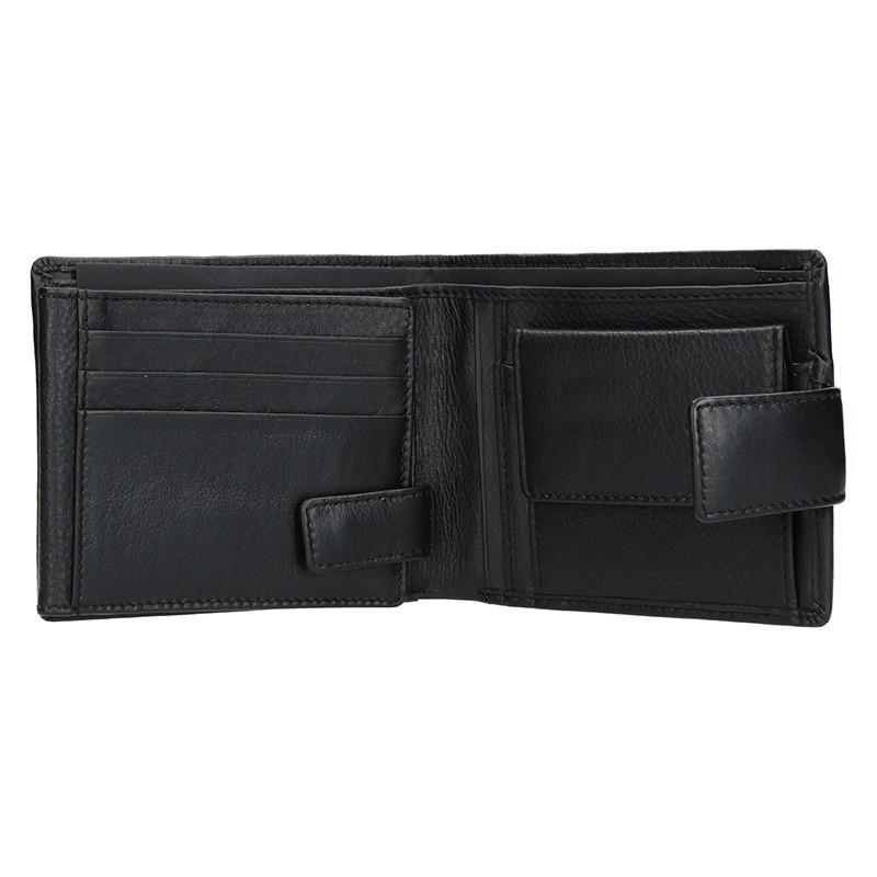 Pánská kožená peněženka Lagen Agustus - hnědá