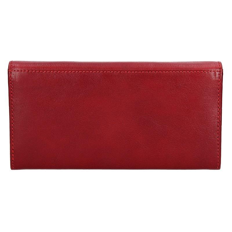 Dámská kožená peněženka Lagen Nathalie - červená