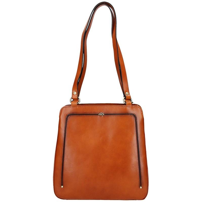 Dámská kožená batůžko kabelka Katana Viola - hnědá 0d19e214d0b
