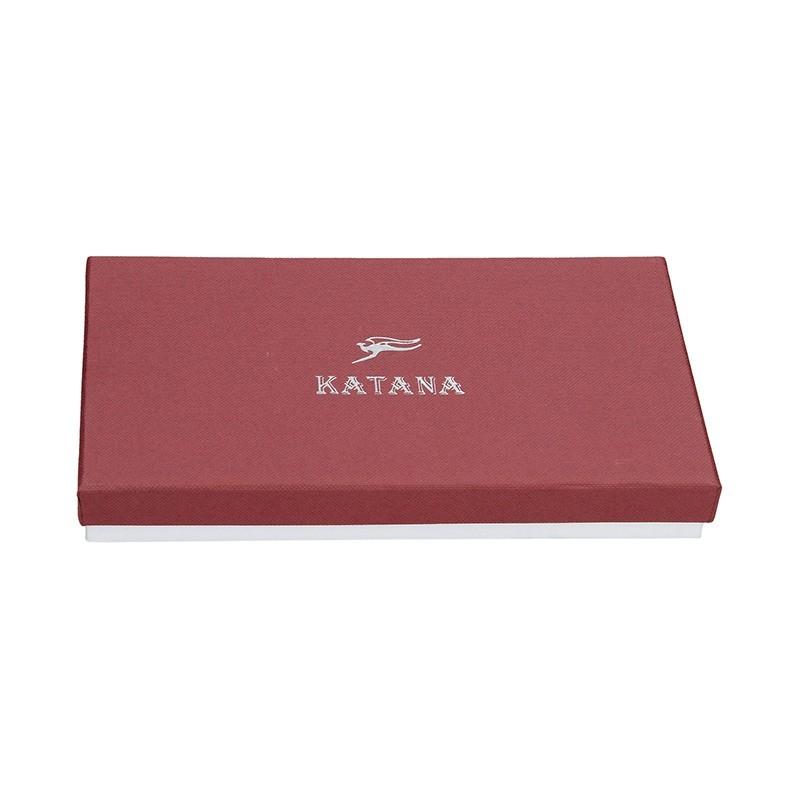 Dámská kožená peněženka Katana Wendy - černá