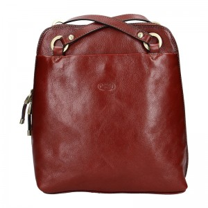 Dámská kožená batůžko kabelka Katana Cindy - černá