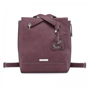 Dámská batůžko kabelka Tamaris Milla - vínová
