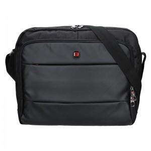 Pánská taška přes rameno Enrico Benetti Gustav - černá