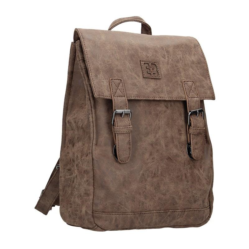 Moderní dámský batoh Enrico Benetti Vilma - černo-šedá