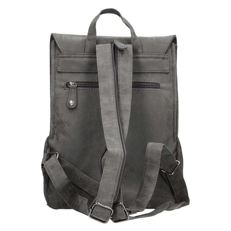 Moderní dámský batoh Enrico Benetti Vilma - hnědá