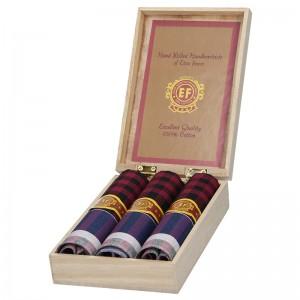Pánské kapesníky v luxusní sadě ETEX Montaro - fialová