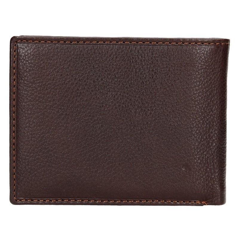 Dámská kožená peněženka SendiDesign Carlos .- černá