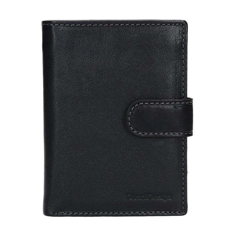 Pánská kožená peněženka SendiDesign Rendl - černá