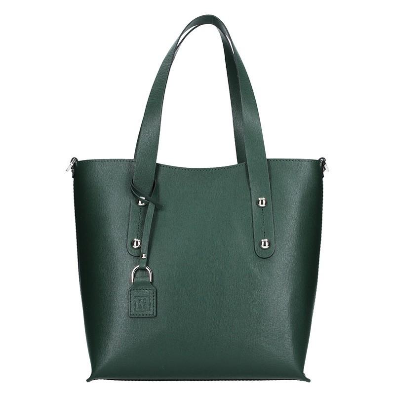 Dámská kožená kabelka Facebag Nina - zelená 0ad8b8612c3