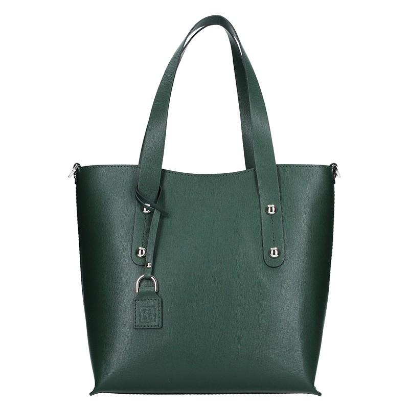 Dámská kožená kabelka Facebag Nina - zelená e51560c8331