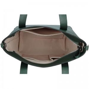 Dámská kožená kabelka Facebag Nina - zelená