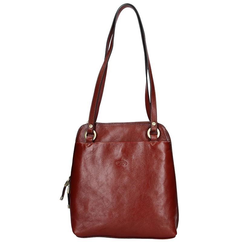375b7a53ba Dámská kožená batůžko kabelka Katana Cindy - černá. Dámská kožená batůžko  kabelka Katana Cindy - černá Přiblížit