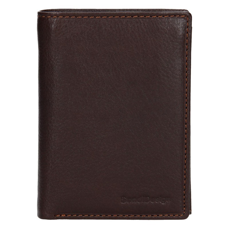 Pánská kožená peněženka SendiDesign Martin - černá