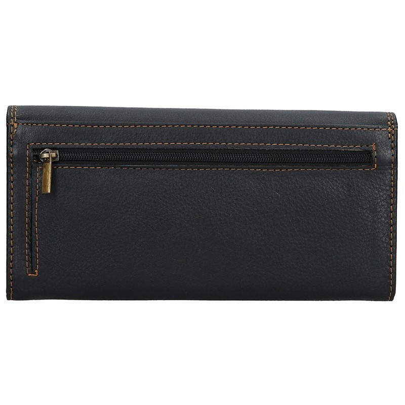 Dámská kožená peněženka SendiDesign Alena - černá