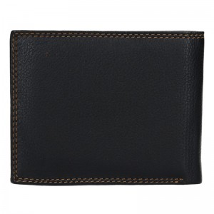 Dámská kožená peněženka SendiDesign Carlos - černá