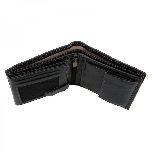 Dámská kožená peněženka SendiDesign Tibor - černá