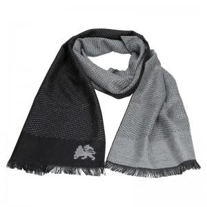 Elegantní pánská šála Lerros 58W1058 - černá